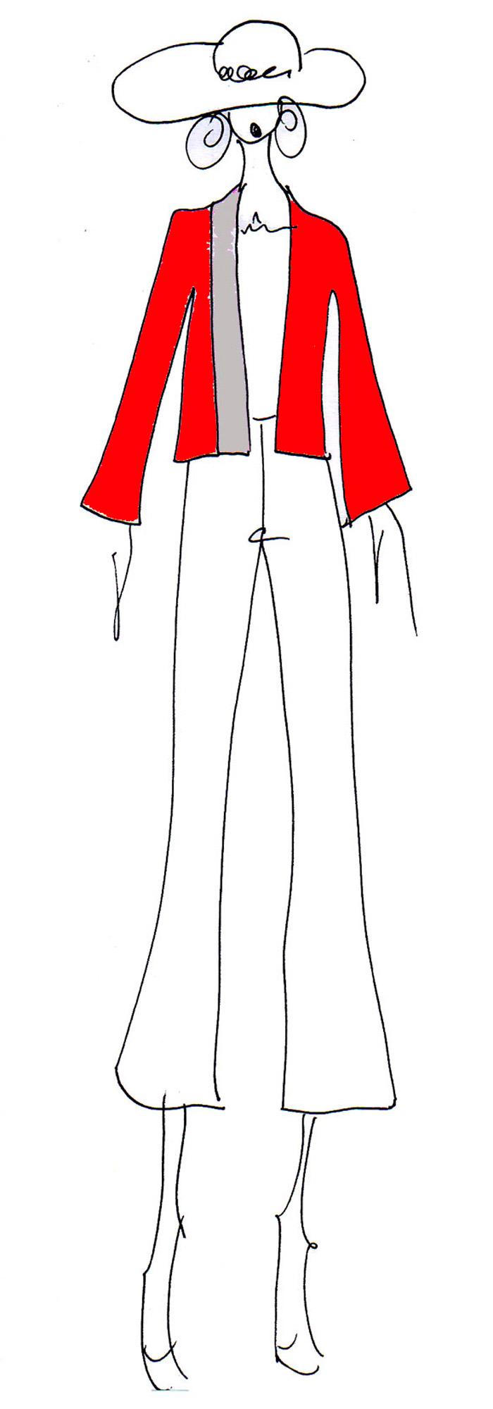 Giacca Onna bicolor